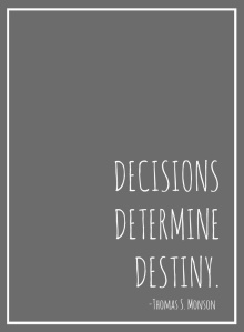 decisionsdeterminedestiny